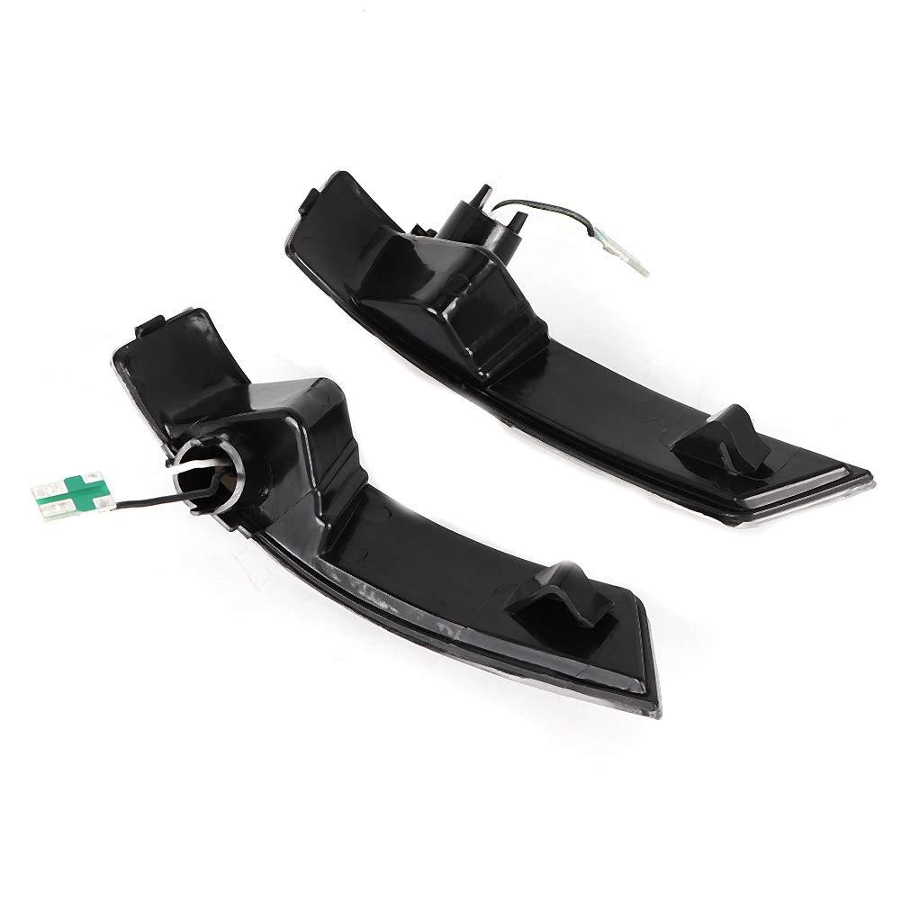 Une paire Akozon R/étroviseur lumi/ère tourner Clignotant R/étroviseur Clignotant pour Focus 2008-2016 Focus MK2 MK3 2008-2018 Mondeo MK4 2011-2015