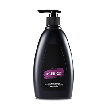 the latest d9aa8 cfc1e Purple Toning Shampoo 14 oz- No Yellow Toner Shampoo for Blonde Hair, Silver  or