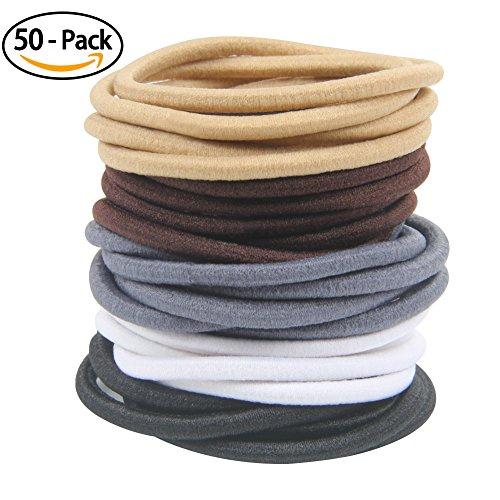 50 no crease hair ties - 8