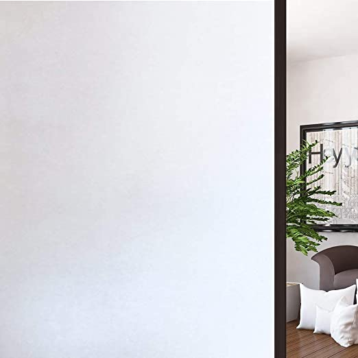 3 Meters Frosted Window Film Glass Home Office Privacy Sticker Vinyl Sticky