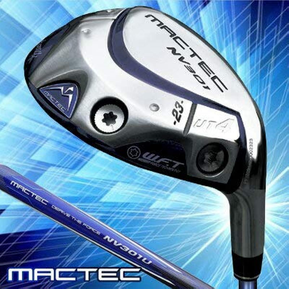[해외] MACTEC(맥텍) 마쿠레가 NV301 유틸리티 MACTEC NV301U 카본 샤프트 맨즈 골프 클럽 오른손잡이용