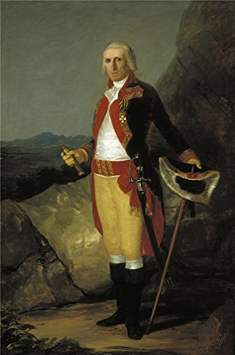 [Oil Painting 'Goya Y Lucientes Francisco De General Jose De Urrutia Ca. 1798', 20 x 30 inch / 51 x 77 cm , on High Definition HD canvas prints is for Gifts And Gym, Laundry Room And Nursery] (New Blood Jason Costume)