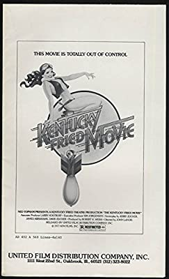 Kentucky Fried Movie pressbook 1977 with Promo Book & Supplement