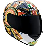 AGV K3 Dreamtime Full Face Motorcycle Helmet (Multicolor, Large)