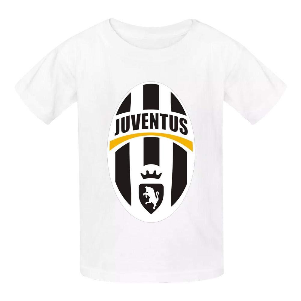 HRZGJ Juv-en-Tus Childrens Lightweight 100/% Cotton Short-Sleeved T-Shirt XS White