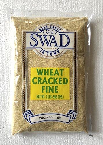Great Bazaar Swad Fine Cracked Wheat, 2 Pound (Wheat Cracked Flour)