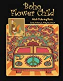img - for Boho Flower Child Adult Coloring Book book / textbook / text book