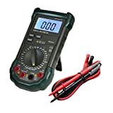 Dr.meter MS8264 Digital AC/DC Auto/Manual Range Digital Multimeter with Temperature Measurement, 30-Range