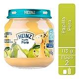 Heinz Papilla para Beb?, Pera, 113 gramos, 12 unidades