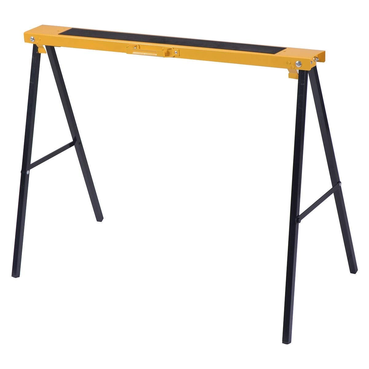 Sawhorse Heavy Duty Folding 2 Pack Steel Portable Saw Horse Legs Pair Workshop MD Group by MD Group (Image #4)