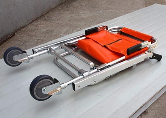 Silla Para Escaleras YJK-A-5 Emergencia 2 Ruedas Ambulancia Bombero Evacuación De Transporte Médico Silla Con Correas De Sujeción Para Pacientes, ...