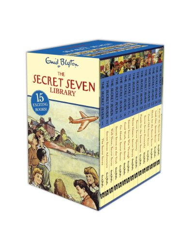 Secret Seven Complete Collection Box Set: Books 1-15