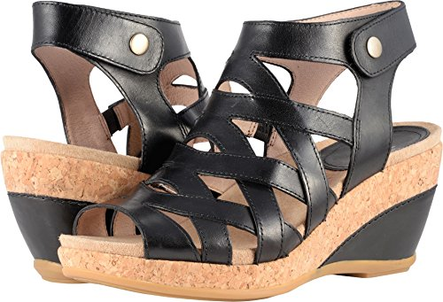 Dansko Women's Cecily Sandal Black Full Grain Size 38 EU (7.5-8 M US Women)
