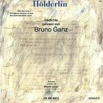 Bruno Ganz Holderlin Gedichte Gelesen Von Bruno Ganz