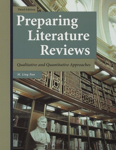 Preparing Literature Reviews: Qualitative and Quantitative Approaches 3rd (third) by Pan, M. Ling (2008) Paperback