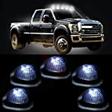 1995 dodge ram 3500 cab lights - cciyu Cab Roof Top Marker Light 5 Pack Smoke 264141BK Running Lamps w/White LED Light Bulbs Replacement fit for 1994 1995 1996 1997 1998 Dodge Ram 2500 3500 Heavy Duty trucks