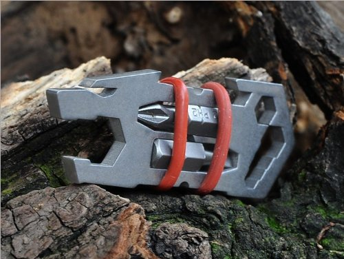 Tooto buy New Titanium Ti Multi-Function Pocket Screwdriver Bottle Opener Spanner Tool