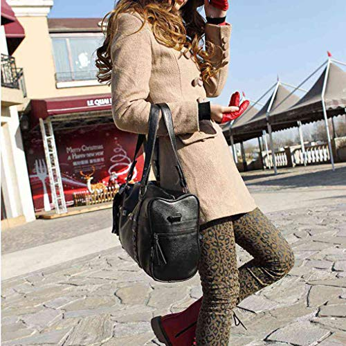 InisIE Studded delle spalla della cuoio inverno borsa dell'unità della di della elaborazione di donne Moda Rivet nappa wtFqtT