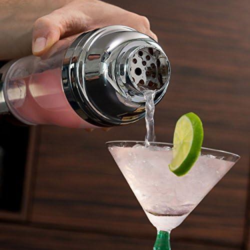 Oramics Coctelera eléctrica Cromado 24 cm taza Bebidas Cocktail ...
