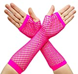 80s-Fancy-Dress-Costume-Accessories-for-Women-Neon-Earrings-Leg-Warmers-Gloves