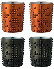 Nachtmann 100053& 100054Punk Whisky vaso pistola Metal y cobre (4unidades)