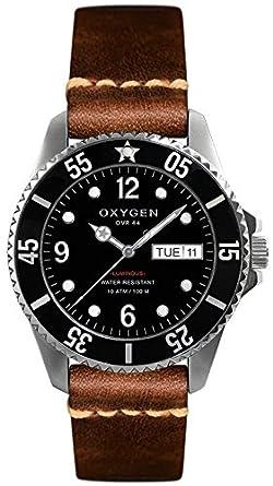 Oxygen – Armbanduhr - Quarzwerk - Armband aus Leder