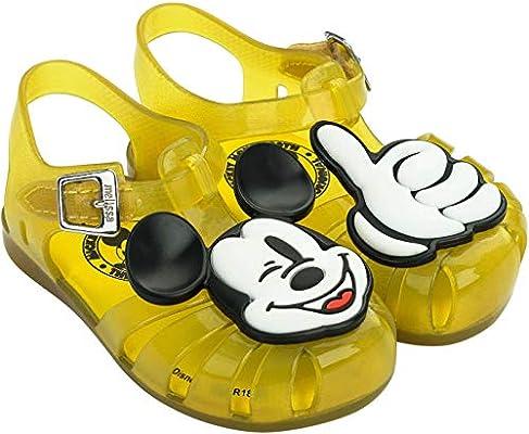 mini melissa Kids Mini Aranha Mickey and Friends Slipper