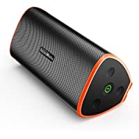 Premium Bluetooth Speaker with TWS, Portable Dustproof/waterproof Outdoor/Indoors Speaker with quality Bass Sound, 5000mAh battery ensures lengthy Playtime for iPhone/iPod/iPad/Phones/Tablet/Echo dot
