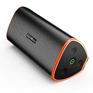 Premium Bluetooth Speaker, Portable Dustproof/waterproof Outdoor/Indoors Speaker with quality Bass Sound, 5000mAh battery ensures lengthy Playtime for iPhone/iPod/iPad/Phones/Tablet/Echo dot