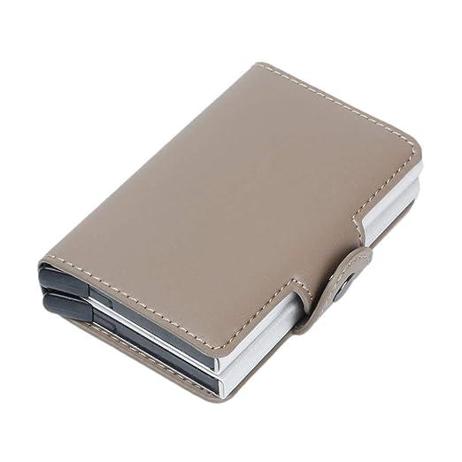 KINTRADE Mujer Hombre RFID Tarjeta de crédito Comercial ...