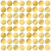 Wall Pops WPD1642 Gold Confetti Dot Decals