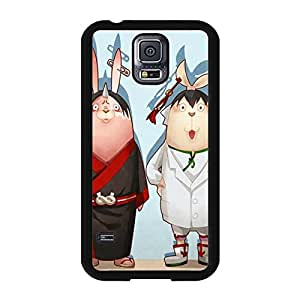 Anime Pattern Cover Shell Usavich Phone Case Snap on Samsung Galaxy S5 I9600 Custom Popular Prison Rabbit Back Cover Case