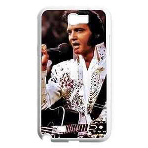 DDOUGS Elvis Presley Custom Cell Phone Case for Samsung Galaxy Note 2 N7100, Customised Elvis Presley Case