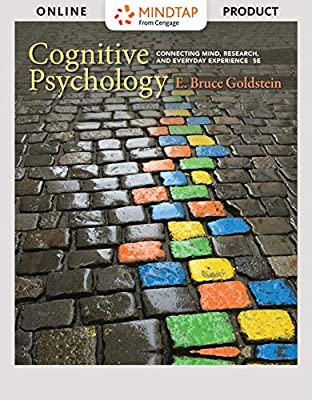 MindTap Psychology for Goldstein's Cognitive Psychology: Connecting Mind, Research, and Everyday Experience, 5th Edition [PC/Mac Online Code]