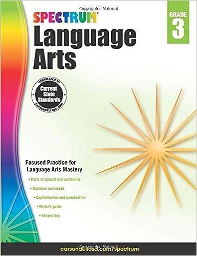 Spectrum Language Arts, Grade 3: Spectrum: 9781483812069: Amazon ...
