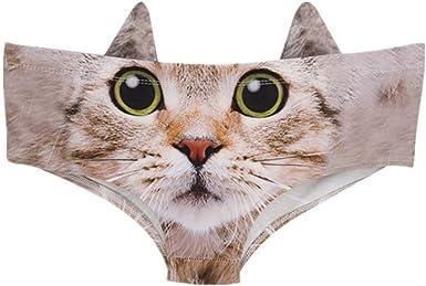 Gatos con Estampado Mujer Lindo con De Animal Orejas Gato Moda Completi Lindo Impresa En 3D con Estilo Hippie: Amazon.es: Ropa y accesorios