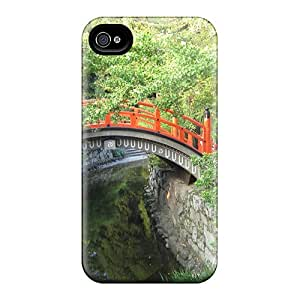 New Arrival Premium 4/4s Case Cover For Iphone (little Red Bridge)