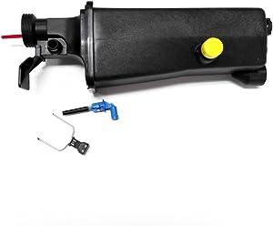 JSD 17117573781 Radiator Coolant Tank Overflow Expansion Bottle Reservoir +Sensor +Clip for BMW E46 E53 E83
