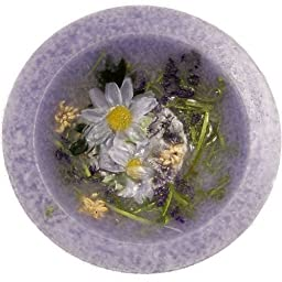 Lavender and Chamomile Scented Flameless Decorative Candle - 7\