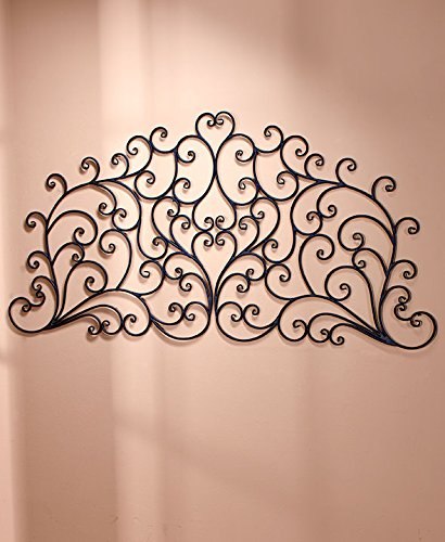 The Lakeside Collection Queen Scrolled Wall-Mount Headboards