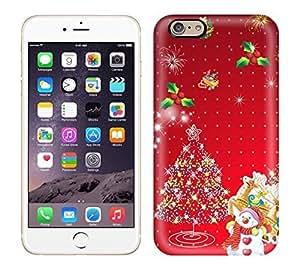 GoldenArea Fashion Protective Santa Claus Xmas Card Case Cover For Iphone 6