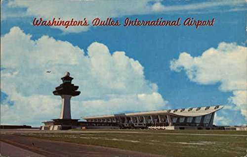 Dulles International Airport Washington, District Of Columbia Original Vintage Postcard ()