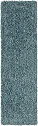 "Surya MLW-9014 Mellow Plush Rectangle Mint 2'3"" x 8' Area Rug"