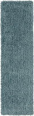 "Surya MLW-9014 Mellow Plush Rectangle Mint 2'3"" x 8' Area Rug"