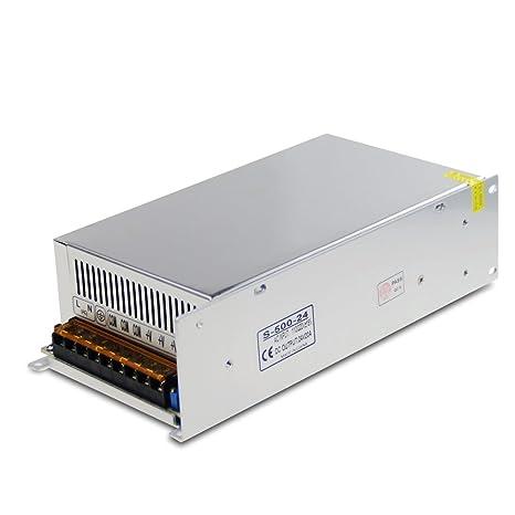 qualité et quantité assurées de style élégant dans quelques jours ALITOVE DC 24V 20A 480W Power Supply Transformer Switch AC 110V / 220V to  DC 24V 20amp Universal Regulated Switching Adapter Converter for LED Strip  ...