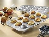 USA Pan Bakeware Crown Muffin Pan, 12