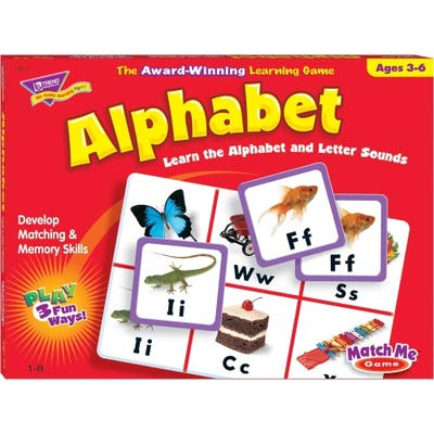 (TREND Alphabet Match Me Puzzle Game, Ages 4-7)
