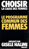 Le programme commun des femmes par Halimi