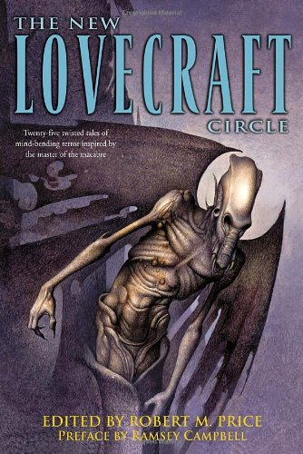 Book cover from The New Lovecraft Circleby Matt Cardin