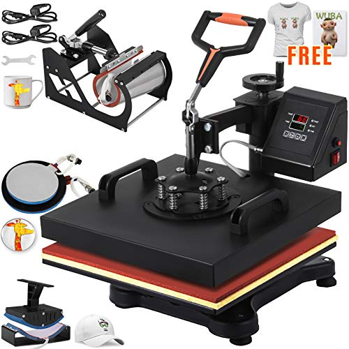 VEVOR Heat Press Machine 15x15Inch Combo Press